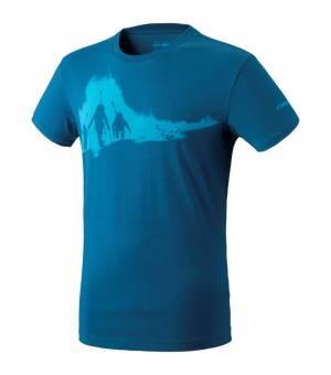 Dynafit Graphic Cotton M T-shirt poseidon/ascent tričko