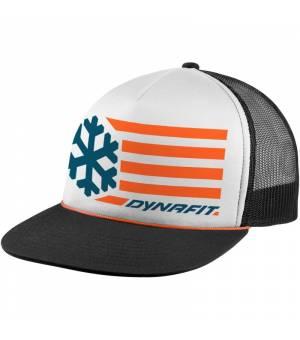 Dynafit Graphic Trucker Cap white/flag 0014 šiltovka