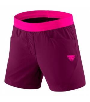 Dynafit Transalper Hybrid W Shorts beet red kraťasy