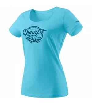 Dynafit Graphic Cotton W T-Shirt silvretta/classic tričko