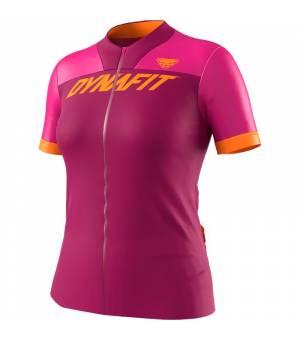 Dynafit Ride Full Zip W T-Shirt flamingo tričko