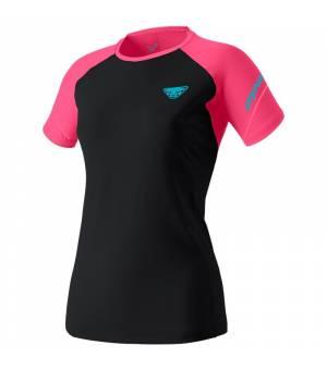Dynafit Alpine Pro W T-Shirt fluo pink tričko