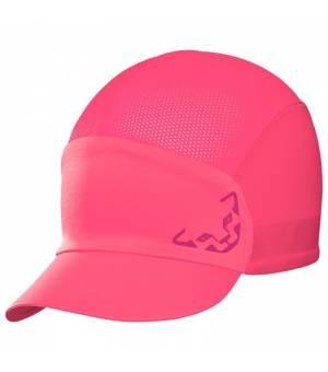 Dynafit React Cap fluo pink šiltovka