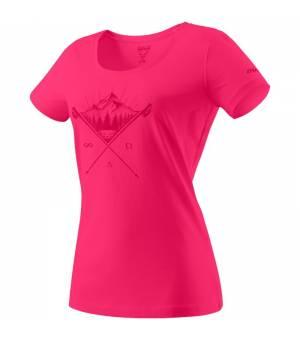 Dynafit Transalper Graphic W T-Shirt lipstick/tattoo tričko