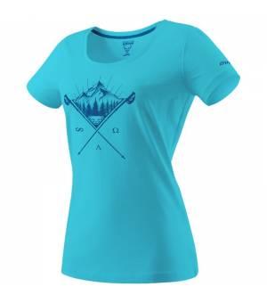 Dynafit Transalper Graphic W T-Shirt silvretta/tattoo tričko