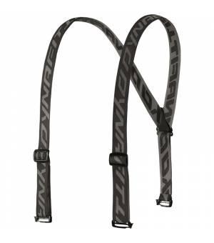 Dynafit 2 Pants Suspenders asphalt traky