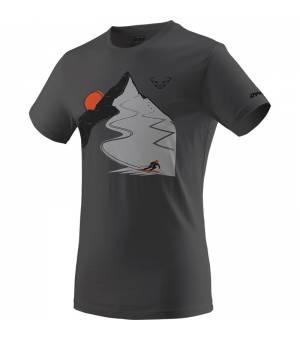 Dynafit Artist Series Cotton M T-Shirt magnet/descent tričko