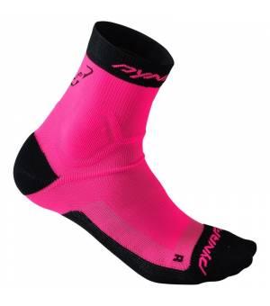 Dynafit Alpine Short Sock pink glo ponožky