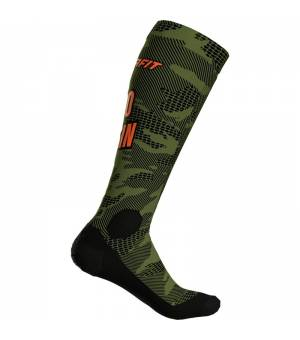 Dynafit FT Graphic Socks winter moss/no pain ponožky