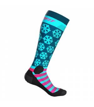 Dynafit FT Graphic Socks flamingo/flag ponožky