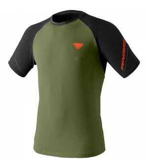 Dynafit Alpine Pro M T-Shirt black out winter moss tričko