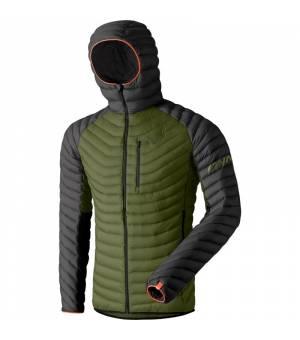 Dynafit Radical Down Hooded M Jacket winter moss bunda