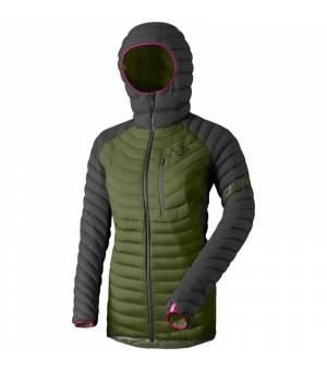 Dynafit Radical Down Hooded W Jacket winter moss bunda