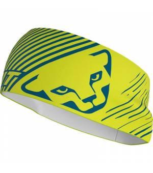 Dynafit Graphic Performance Headband lime punch/striped čelenka