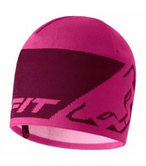 Dynafit Leopard Logo Beanie flamingo čiapka