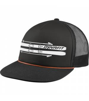 Dynafit Graphic Trucker Cap black out/ski šiltovka