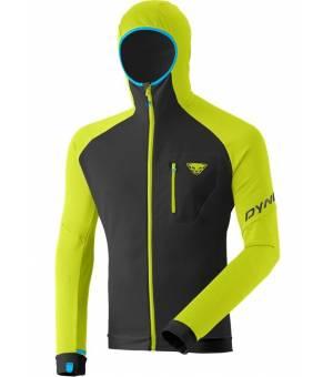Dynafit Radical Polartec M hooded Jacket lime punch mikina