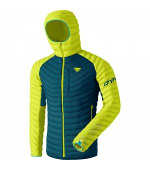 Dynafit Radical Down Hooded M Jacket lime punch bunda
