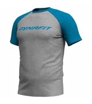 Dynafit 24/7 Logo M Tee mykonos blue melange tričko