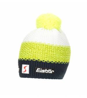 Eisbar Star Pompon Mu Sp Kids čiapka šedá/žltá/biela