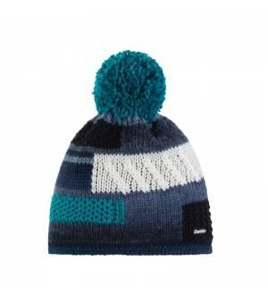 Eisbär Cordo Pompon MÜ cap blue multicolor čiapka