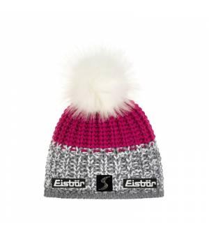 Eisbär Focus Lux Crystal MÜ SP cap pink grey čiapka