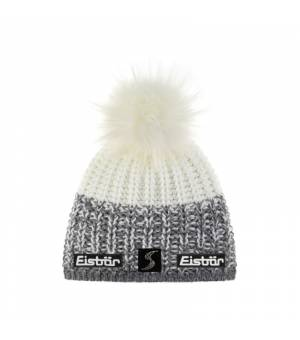 Eisbär Focus Lux Crystal MÜ SP cap grey white čiapka