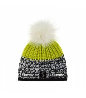 Eisbär Focus Lux Crystal MÜ SP cap green black and white čiapka