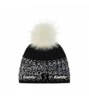 Eisbär Focus Lux Crystal MÜ SP cap black and white čiapka