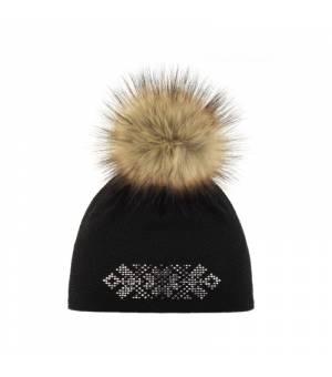 Eisbär Freja Lux Crystal MÜ black čiapka