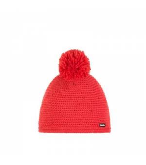 Eisbär Nola Pompon Crystal MÜ Kids cap pink red čiapka