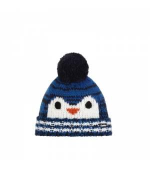 Eisbär Rico Pompon MÜ Kids cap sky blue white čiapka