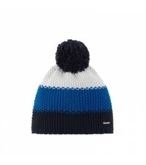 Eisbär Star Pompon MÜ Kids cap blue white čiapka