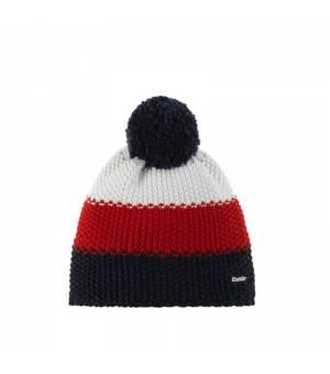 Eisbär Star Pompon MÜ Kids cap blue red white čiapka