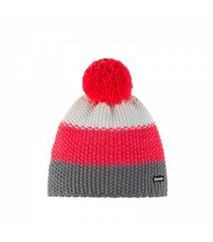 Eisbär Star Pompon MÜ Kids cap grey pink white čiapka