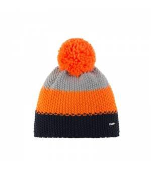 Eisbär Star Pompon MÜ Kids cap blue orange grey čiapka