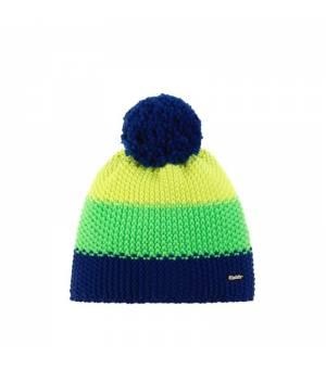 Eisbär Star Pompon MÜ Kids cap blue green yellow čiapka