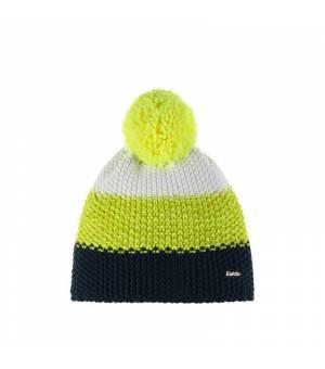 Eisbär Star Pompon MÜ Kids cap night blue yellow white čiapka