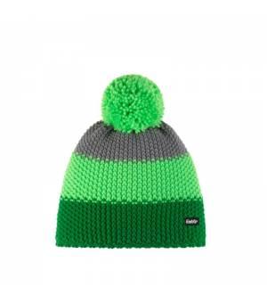 Eisbär Star Pompon MÜ Kids cap green grey čiapka