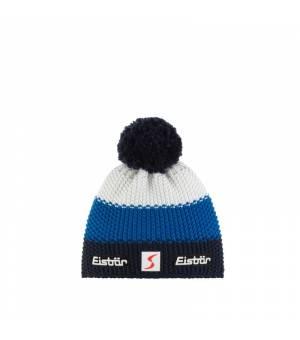 Eisbär Star Pompon MÜ SP Kids cap blue white čiapka