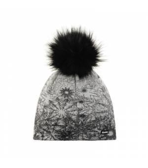 Eisbär Winter Lux Crystal MÜ cap snowflake white čiapka