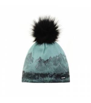 Eisbär Draw Lux Crystal MÜ cup blue black čiapka