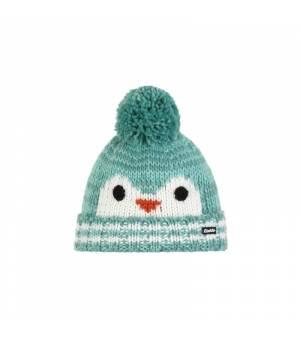 Eisbär Rico Pompon MÜ Kids cap blue white čiapka