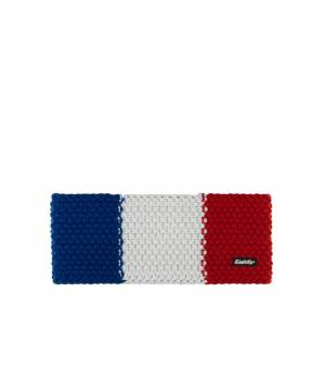 Eisbär Jamies Flag STB headband FRA tricolore čelenka