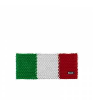 Eisbär Jamies Flag STB headband Italy tricolore čelenka