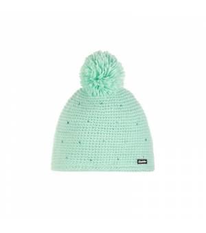 Eisbär Nola Pompon Crystal Mü Kids cap mint green čiapka