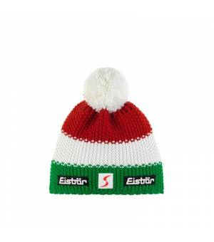 Eisbär Star Pompon MÜ SP ITA tricolore čiapka