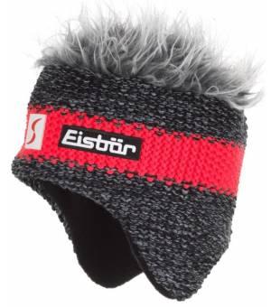Eisbär Styler Cocker MÜ SP grey red čiapka