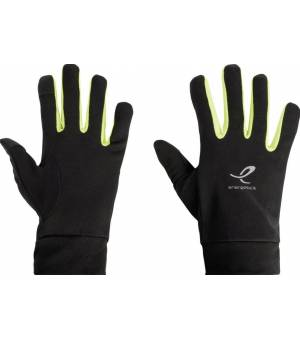 Energetics Magic Tip IV Pánske rukavice čierne/žlté
