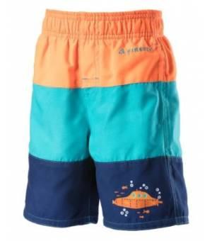 Firefly Tarren Orange Blue detské plavkové šortky